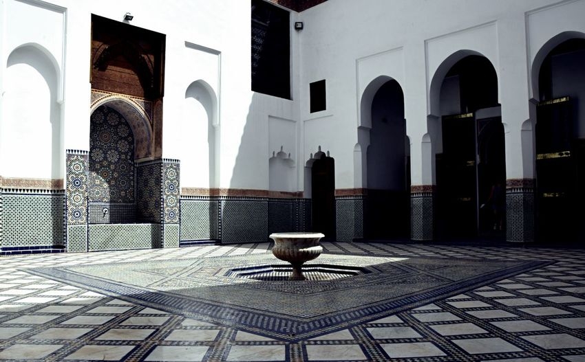 Courtyard Of Medina