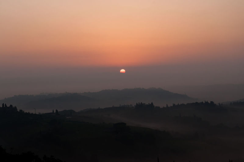 sunrise in a