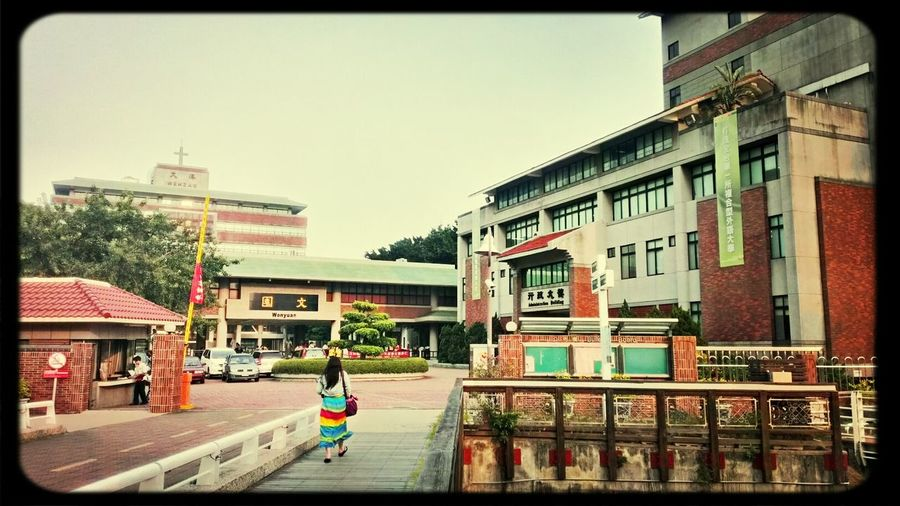 Dropping by my old school after swimming. Lots of memories here, and grateful to talk to Ms. Lan!