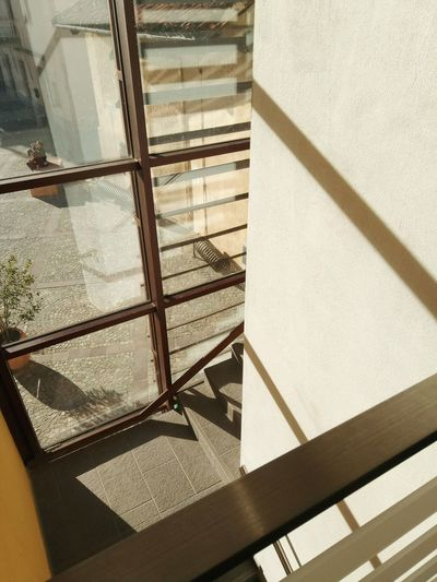 Shadow Sunlight Pattern High Angle View Indoors  Built Structure Architecture No People Day Close-up Low Section