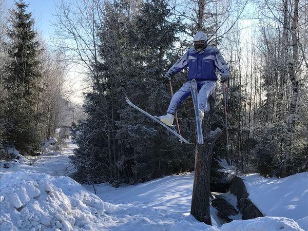Tatry, Slovakia Landscape Winter Snow Tatras Tatry Slovakia Christmastime Ski Skiing Tree Funny Humour Humourous Cold Chilly