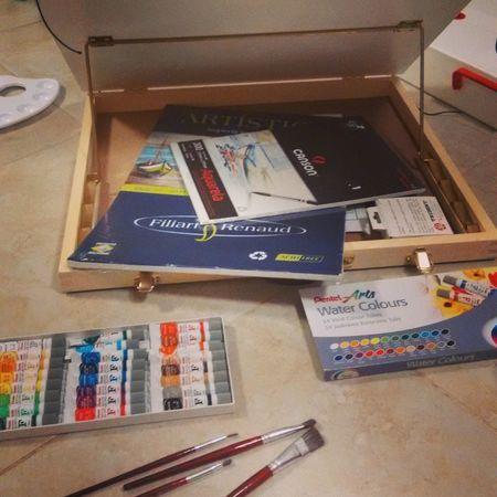 Artista... Tinta Aquarela Art, Drawing, Creativity Watercolor