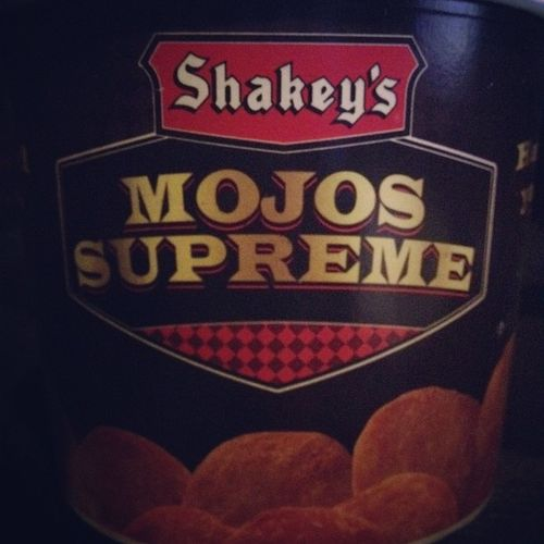 Good Morning!! Mojos Mojojojo Food Potatoes instagram shakeys pizza mojosupreme instagramthatmojo mojo korn paramore exile