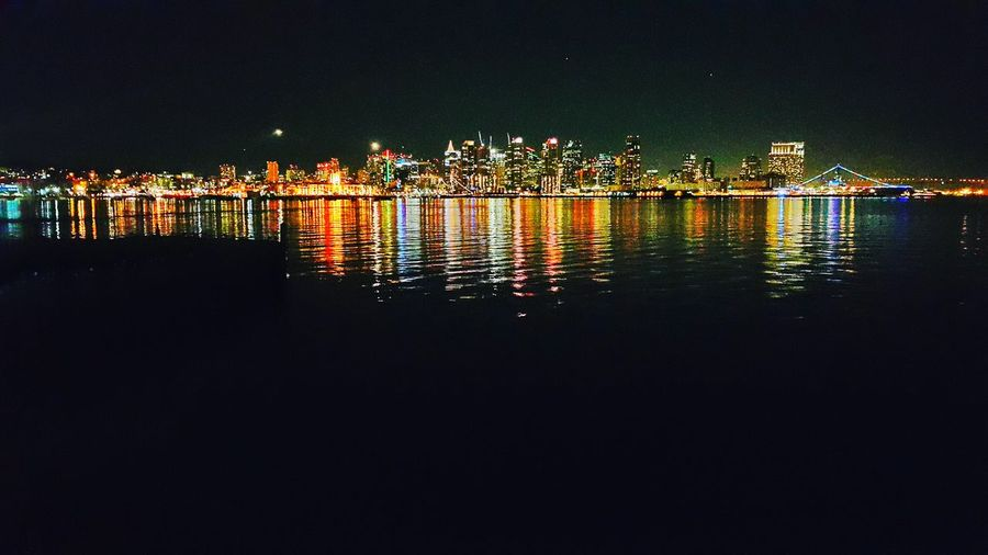 San Diego San Diego Skyline Nightphotography EyeEm Best Shots Freelance Life Urban Lights And Shadows