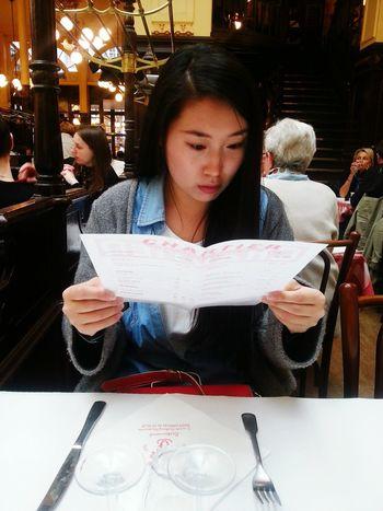 Chartier Menubook Restaurant Travel Paris