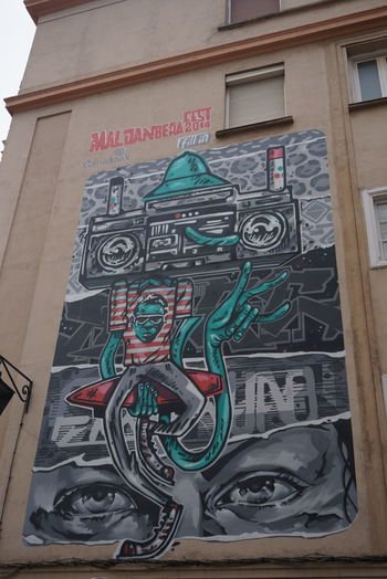 Graffiti Street Art Gasteiz Vitoria Color Explosion Vitoria / Gasteiz City Streetphotography Creativity Multi Colored