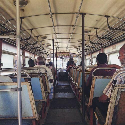 難得少人.... Bus Matara SriLanka