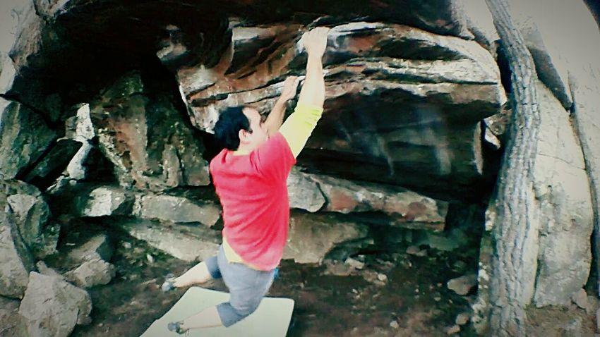 Albarracín Escalada Boulder Climbing Lance Bloque