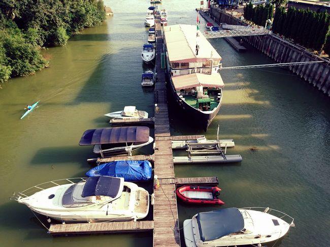 Duna Hello World Hungary Budapest Water Sport Hi! Enjoying Life ENJOI Green