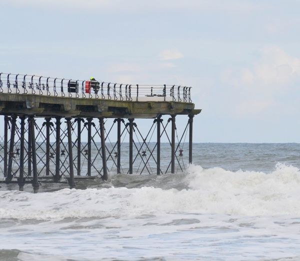 End of Pier, Saltburn Pier, Saltburn,