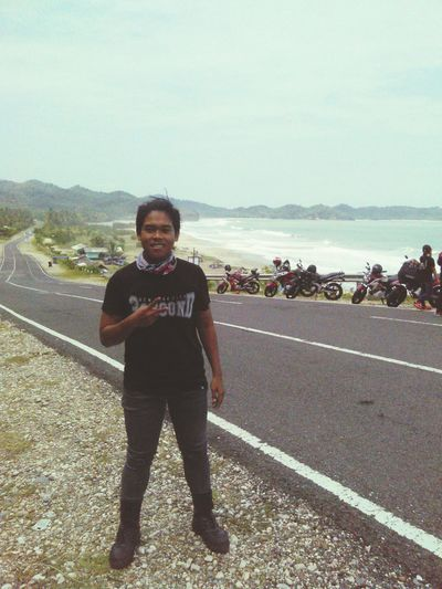 This is my journey Relaxing That's Me Enjoying Life Check This Out Hello World Motorbike Touring Jalurlintasselatan Pacitan