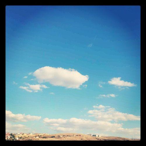 Bulutlar yeryüzüne inmiş gibi...