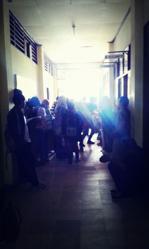 Hi! That's Me Taking Photos English Department Hall <3