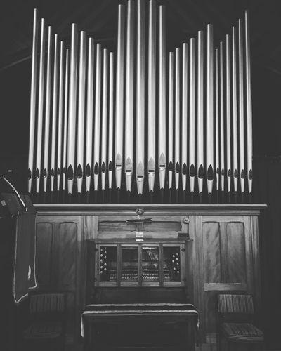 Black Blackandwhite Organ