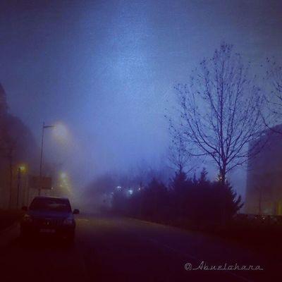 Día de nieblas, que no tinieblas. Buenos días Leganés