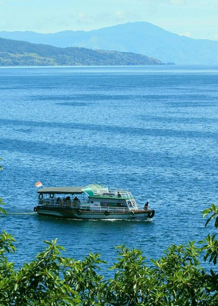 Toba Lake, Parapat, Indonesia Toba Lake Parapat INDONESIA Boat Landscape Landscape_photography My Country In A Photo Tourism EyeEm Best Shots