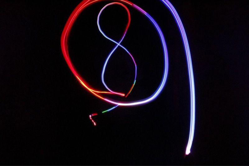 LOWLIGHT DIMENSION Night Illuminated Multi Colored No People Light Trail Long Exposure Motion Black Background Outdoors Close-up Canon100D Canon Lowlightphotography Lowlight España SPAIN 3XSPUnity Scenics Rear View Speed Studio Shot Black Background