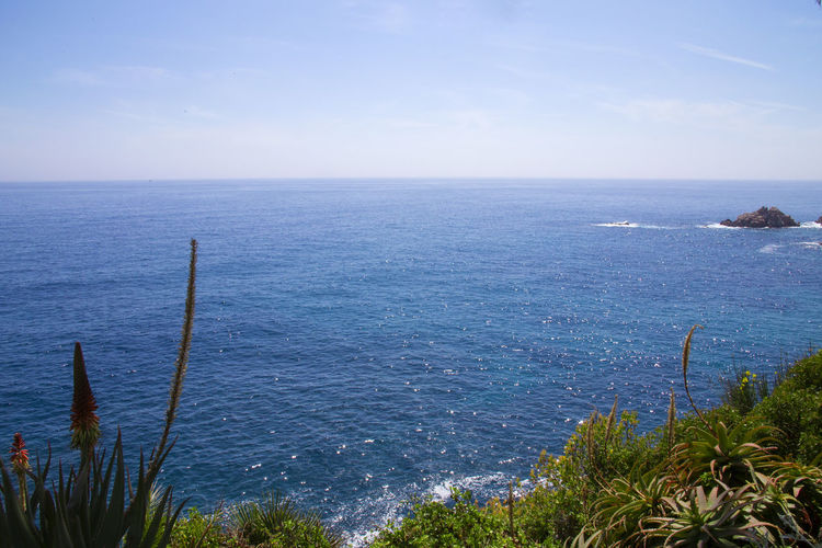 Beauty In Nature Blue Sea Blue Sky Blue Wave Day Idyllic Nature Scenics Sea Sea And Sky Tranquility Water