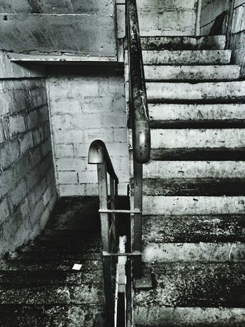 just endless career stairs Industrial Hand Rail Staircase Tiled Wall Underpass Stairs Steps And Staircases Pipe - Tube Fire Escape Ceiling Light  Stairway Steps