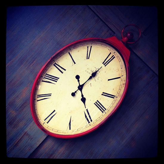 Clock Wallclock Four O'clock
