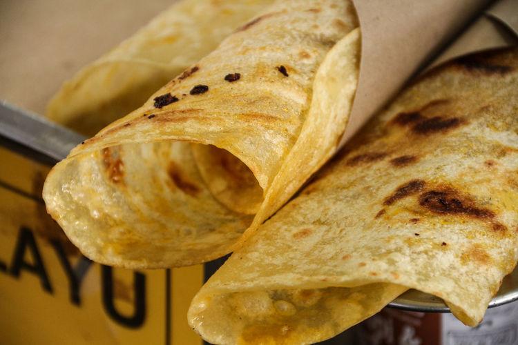 Close-up of tortilla