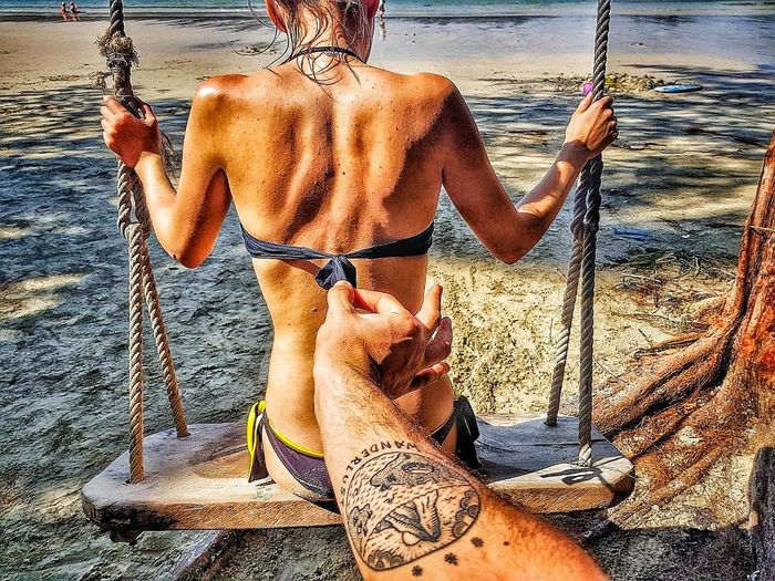 bikini or not Bikini Without Bikini Fun Travel Love Joke Sea One Person Men Adult Outdoors Nature People Shades Of Winter Love Yourself Water Press For Progress EyeEmNewHere