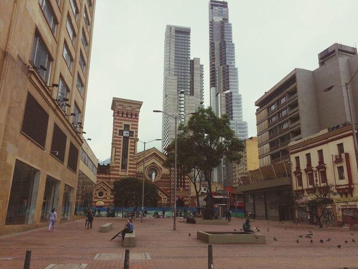 Centro de Bogotá DC. Evolucionando con el tiempo. #Bogota #CentroBogota Tall - High