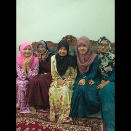 Yesterday at Nisa's house Throwback Kenduri Friends