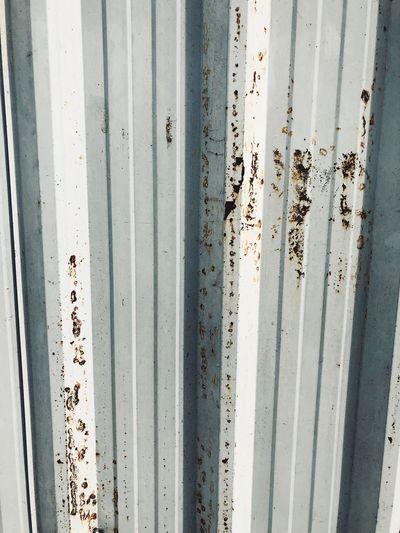 มุมๆนึง EyeEm Selects Full Frame Pattern No People Backgrounds Text Textured  Metal Outdoors Close-up Corrugated Iron Wall - Building Feature