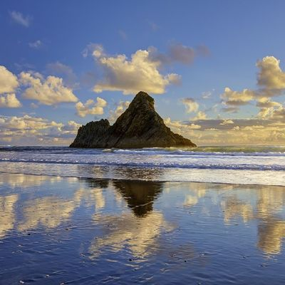 Reflections Newzealand Landscape Clouds Aoteoroa