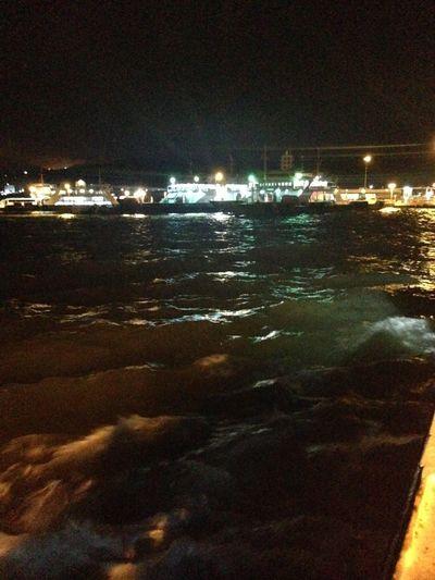 Boat Ride Traveling Hello World Waves Crashing