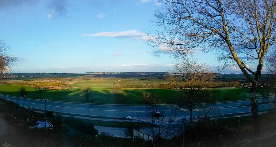 Nordjylland, Denmark on a early spring saturday. Dk Denmark Panorama