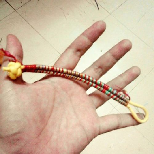 l made it for someone,,but .... Simpleparacord Knotting Colorfull Rainbow paracord