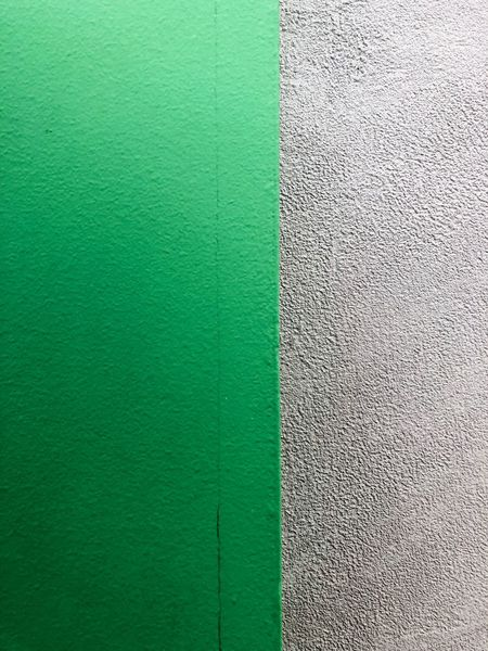 Green Color Wall - Building Feature Textured  Built Structure Backgrounds Full Frame Architecture No People Rough Close-up Pattern Building Exterior Outdoors Wall Day Multi Colored Gray Concrete Nature Green