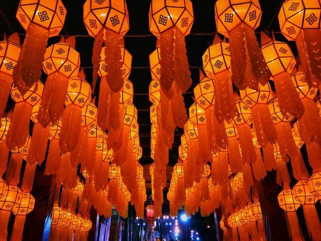 Longkong Chiangmai Thailand Tavel Tourism Nihgt