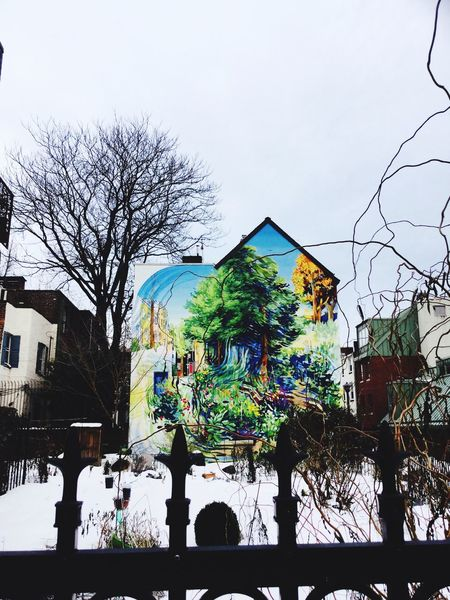 Locust & Sartain Streets Mural Art City Gardens