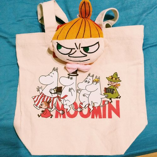 謝謝派大星~ 有屎以來做的最好の包包 Haaaaaaaaa Moomin 무민