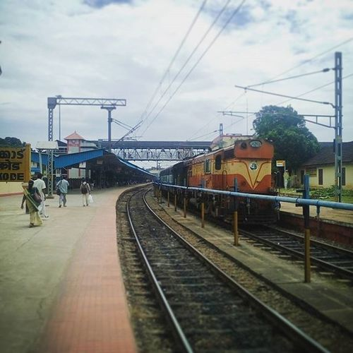 Calicut railway station Rail Train Railway Calicut Kozhikode Instacam Instagram Instamood Instagood Random Thegreatindianrailways Indianrailways