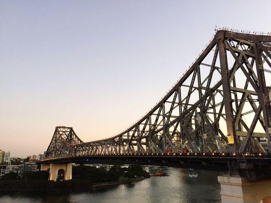 Storey Bridge Storey Bridge Brisbane Connection Bridge - Man Made Structure Architecture Engineering Built Structure Transportation Suspension Bridge Bridge
