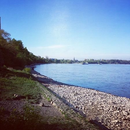 Hometown K öln Koeln Cologne river rhein