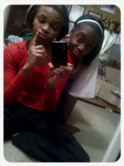 Me & My lil cousin <3