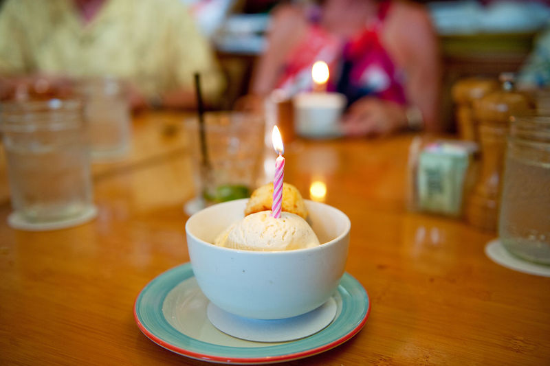 Birthday Candle Birthday Dessert Burning Candle Close-up Flame Food Food And Drink Ice Cream Indoors  Lit Refreshment Sweet Food Table Temptation Colour Of Life