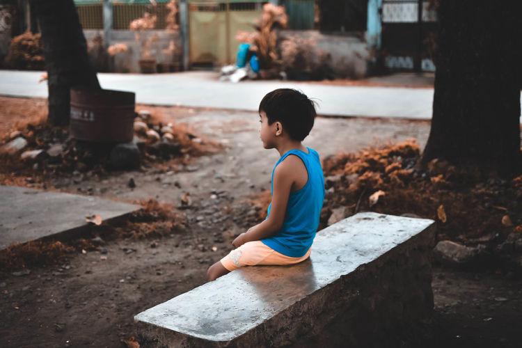 Being alone doesn't mean being lonely #EyeEmPaid #Eyeemph #EyeEm #eyembestshot #EyeemPhilippines #eyeemphotography #EyeEmNewHere #the Street Photographer - 2018 EyeEm Awards #The Week On EyeEm Boys Water Full Length Childhood Child #silence #ChildhoodMemories #looking Away #FOCUS #Child #Dark MoodyTones Moodyphotography Moodygrams Streetphotography #urbanana: The Urban Playground