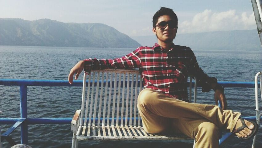 LakeToba  Relaxing Enjoying Life Vacation Time