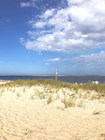 Chatham Cape Cod Summer Ocean Sky Sea Beach Cloud - Sky Water Beauty In Nature Sand Scenics - Nature Tranquility Nature Sunlight