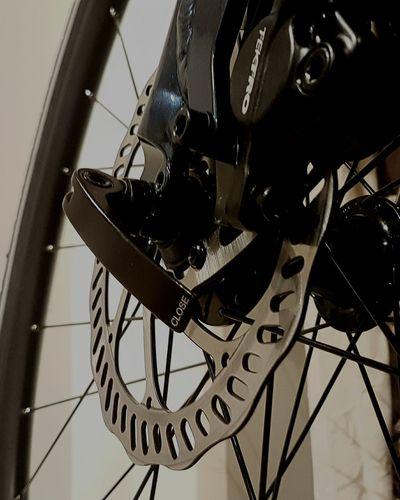 Close-up Disk Brakes Bikes Mechanical Spokes Wheel Day Minute Hand EyeEmNewHere Samsung Galaxy S7 Edge