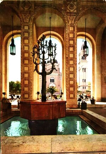 Water Luxury Arch Luxury Hotel Indoors  Architecture Travel Destinations