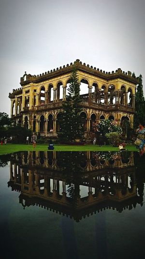 The ruins in bacolod Building Check This Out Nature Reflection Ruins Historical Building Love