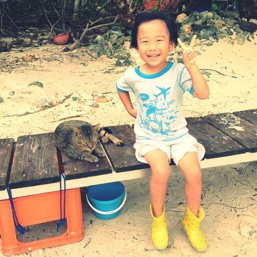 Enjoying Life Cool Kids Okinawa
