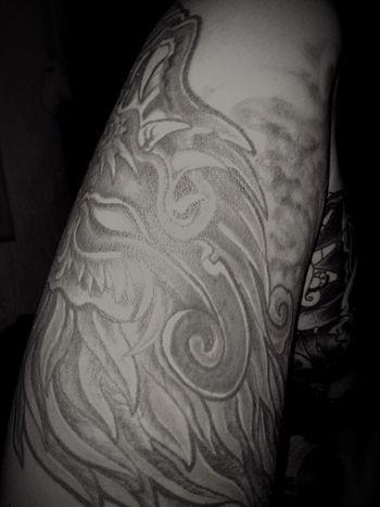 Tattoos Tatoo Nightphotography Quetzalcoatl Mictlantecutli Blackandwhite